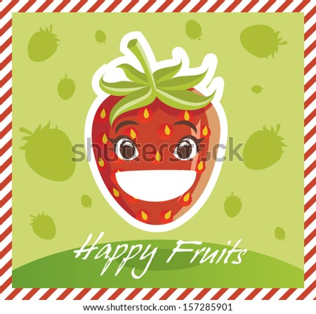 Happy Fruits Strawberry