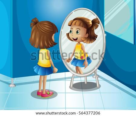 24 mirror clipart vectors download free vector art for Se voir dans un miroir