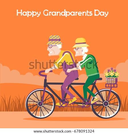 happy grandparents day cardold