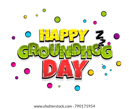 happy groundhog day holiday