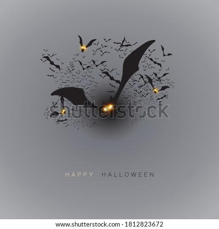 happy halloween card template