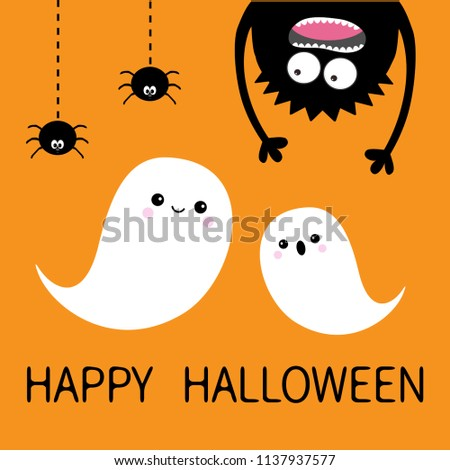 happy halloween card two