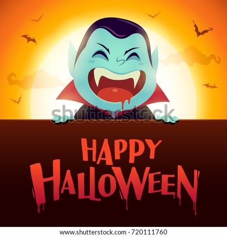 happy halloween dracula