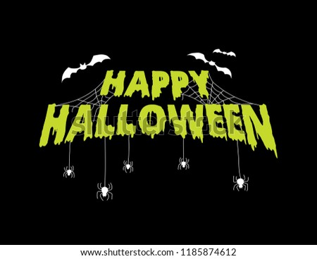 stock-vector-happy-halloween-greeting-title-text-with-cobwebs-spiders-bats-spooky-scary-text-ooze
