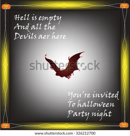 happy halloween quotes with bat