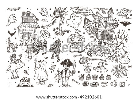 Halloween Costumes Coloring Pages. Affordable Halloween Costumes ...