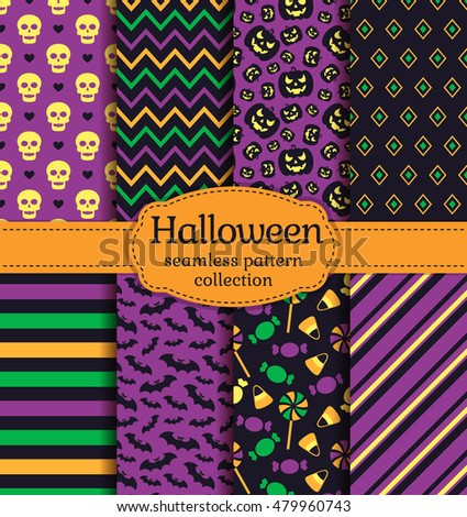 happy halloween  set of