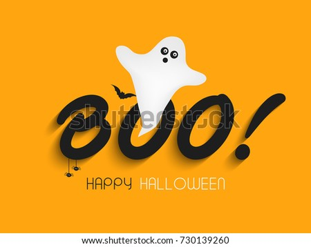 Happy Halloween vector background.
