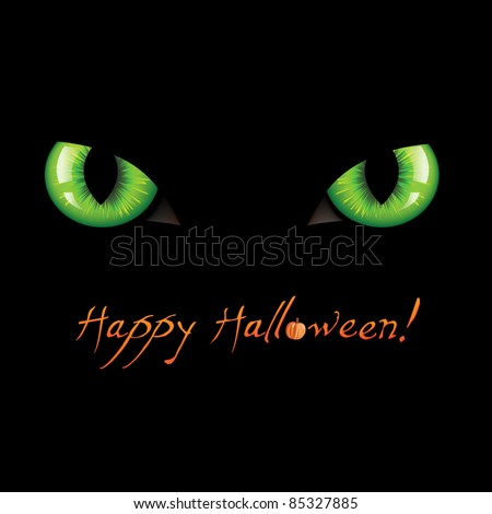 Happy Halloween, Vector Illustration - stock vector