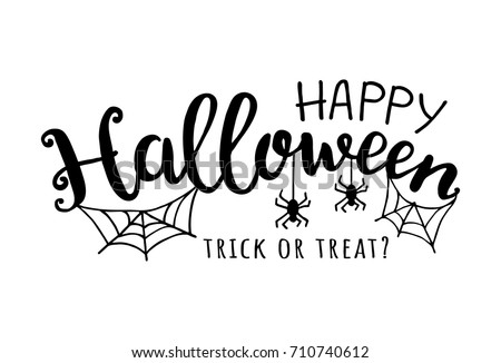 stock-vector-happy-halloween-vector-illustration-with-web-and-spider-trick-or-treat