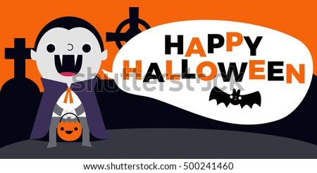 happy halloween web slider or
