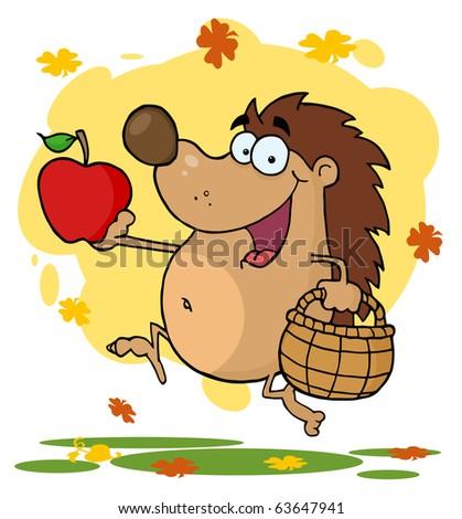 Happy Hedgehog Runs