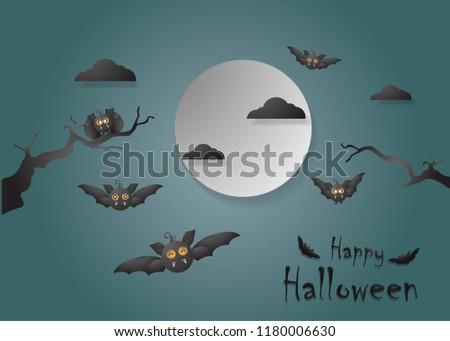 happy helloween vector eps 10