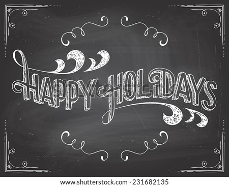 happy holidays greetings
