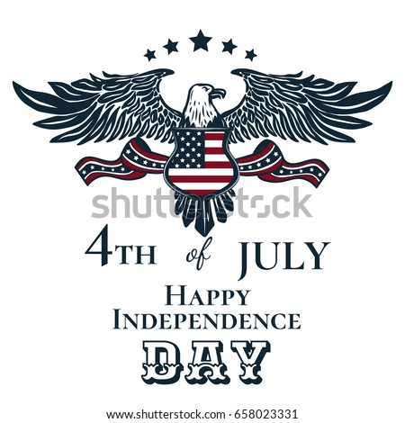 happy independence day card...