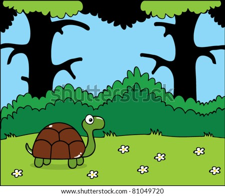 how to kill a turtle in the forest