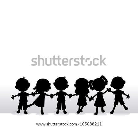 happy little silhouettes