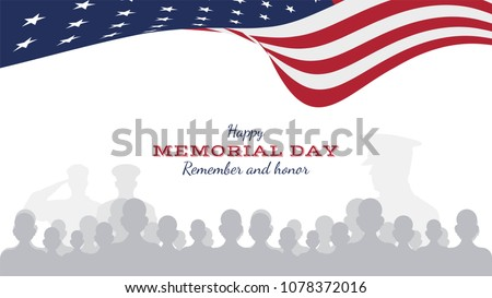 happy memorial day. greeting...