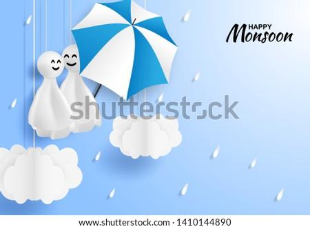 happy monsoon  rainy season