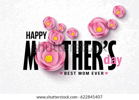 happy mother's day calligraphy