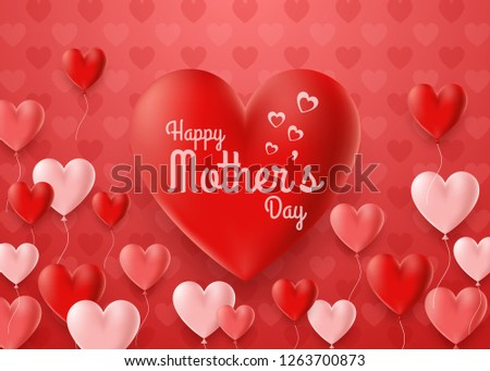 happy mother's day card with