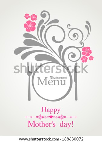 happy mother's day  restaurant