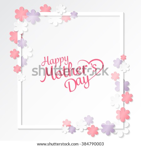 happy mother's day sweet flower