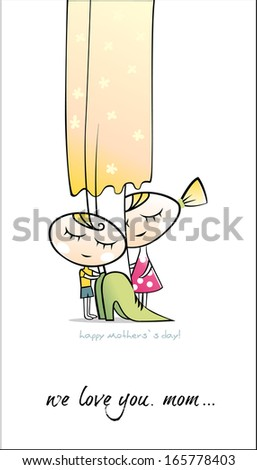 Happy Mother`s day. Vector