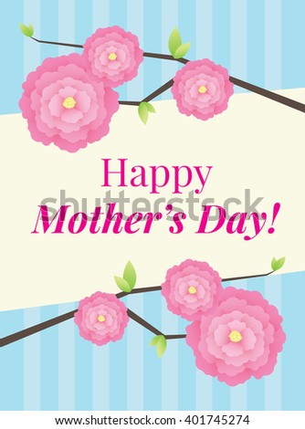 Happy Mother's day wish card #401745274
