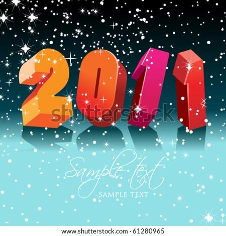 جيت نهنيكم بدخول السنه الميلاديه stock-vector-happy-new-year-61280965.jpg