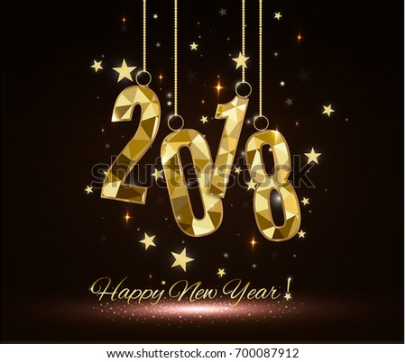 Happy New Year and Merry Christmas 2018 #700087912