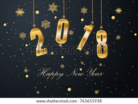 Happy New Year and Merry Christmas #763655938