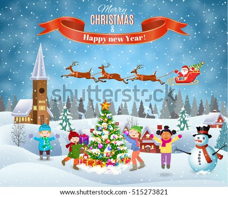 happy new year and merry