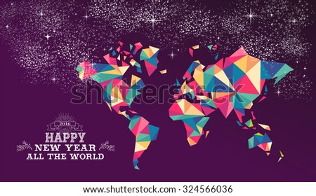 happy new year around the world