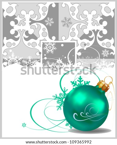 Happy new year, Christmas decorations  background, Christmas card, Xmas holidays, Christmas decorations, Xmas card, Merry christmas, Christmas day
