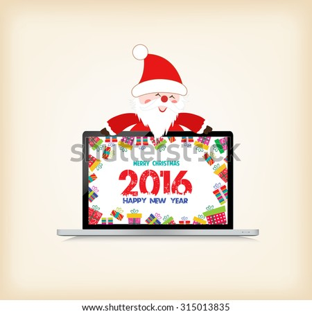 happy new year 2016  christmas