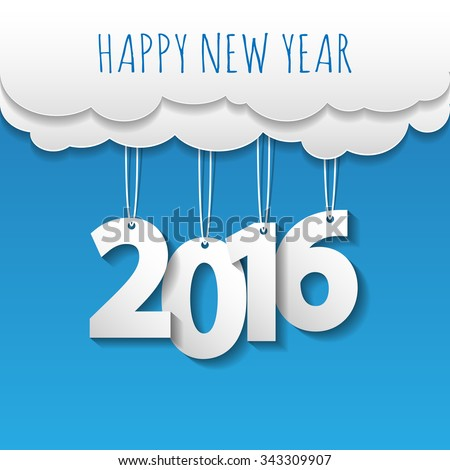 happy new year 2016 cloud and