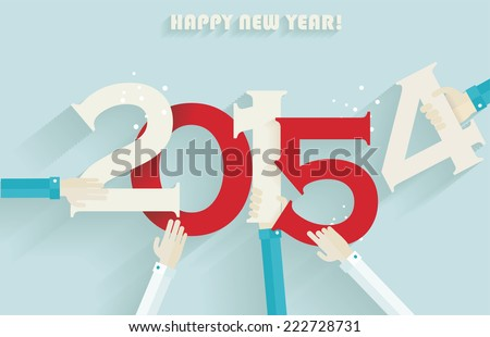 happy new year 2015 creative