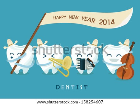 Happy new year dentist