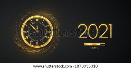 happy new year 2021 golden