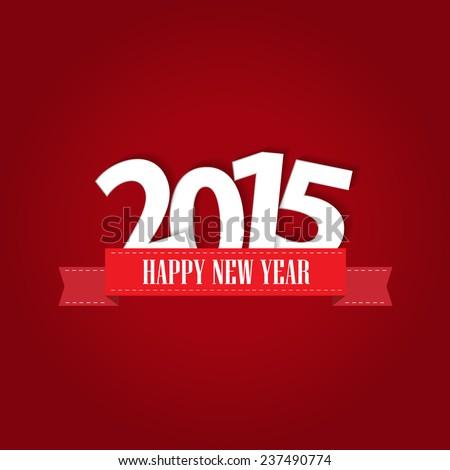 Happy new year 2015 greeting card design ez canvas happy new year 2015 greeting card design m4hsunfo