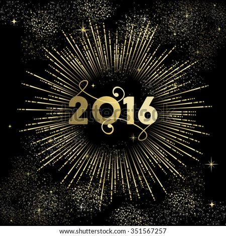 happy new year 2016 greeting