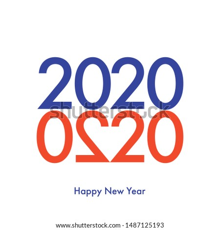 happy new year 2020 greeting