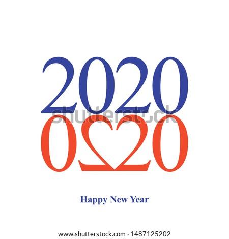 happy new year 2020 greeting