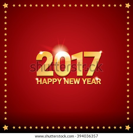 happy new year 2017 happy chinese new year 2017 on creative red background ez canvas
