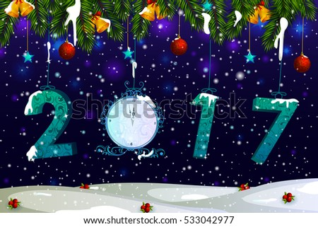 happy new year 2017 holiday