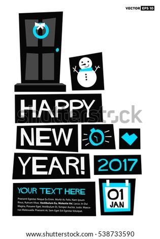 happy new year 2017 01 january
