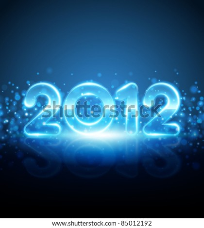 happy new year 2012 message