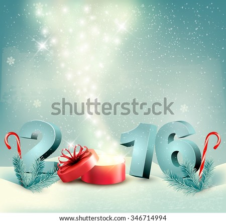 Happy New Year 2018 Greeting Card Template - Download Free Vector ...