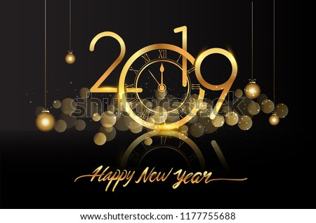 stock-vector-happy-new-year-new-year-shining-background-with-gold-clock-and-glitter